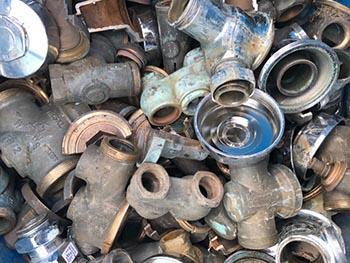Plumbing brass recycling