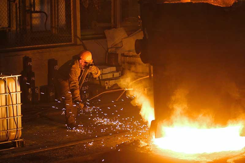 Los Angeles scrap metal recycling foundry