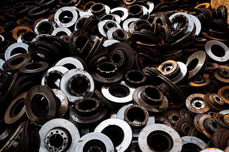 Scrap ferrous metal Los Angeles