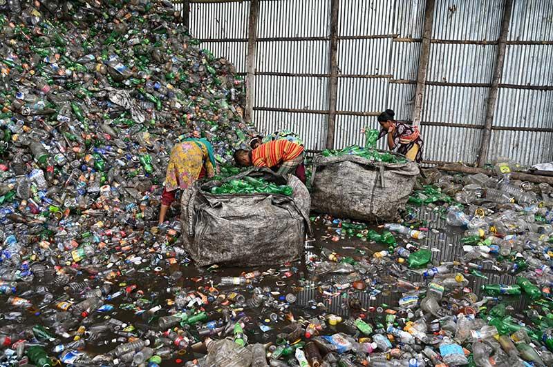 scrap metal yard los angeles landfill image