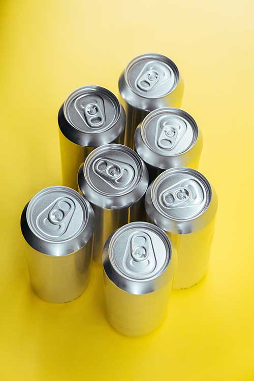 Sell aluminum cans for cash in Los Angeles