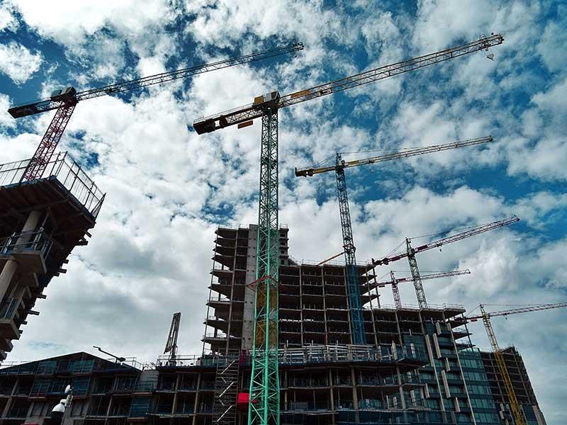 Burbank, CA construction project and scrap metal
