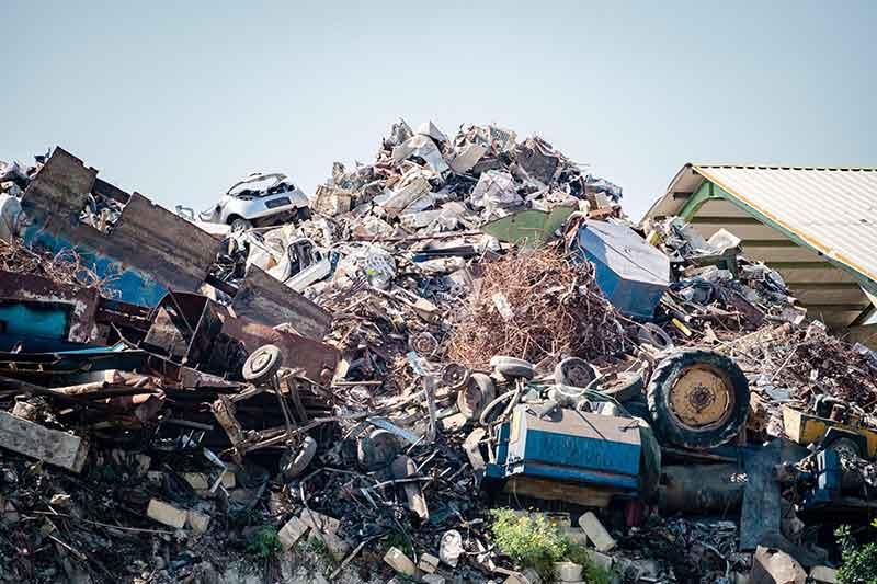 Scrap for Asian secondary metals market